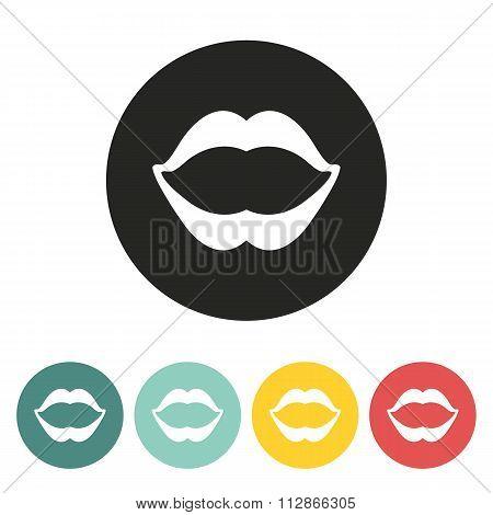 Lips Icon.