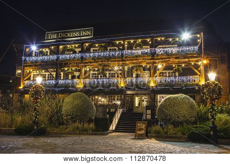The Dickens Inn Public House In London