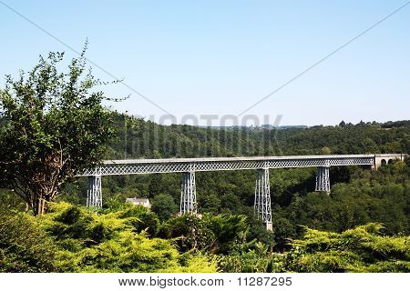 Busseau Viaduct Limousin France