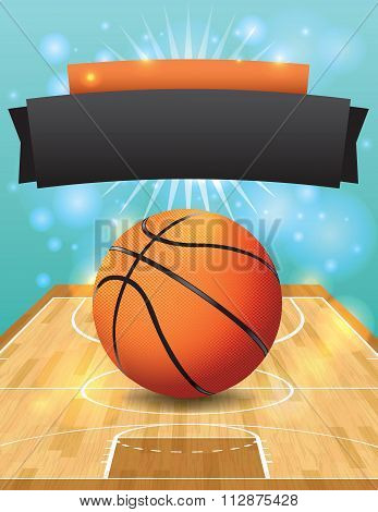 Vector Basketball Flyer
