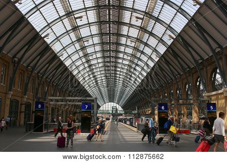Londons Kings Cross Railway Station