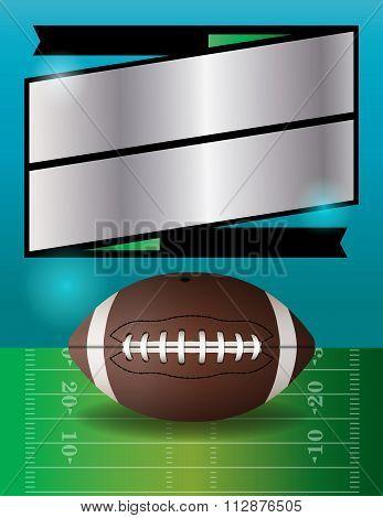Vector American Football Party Illustration