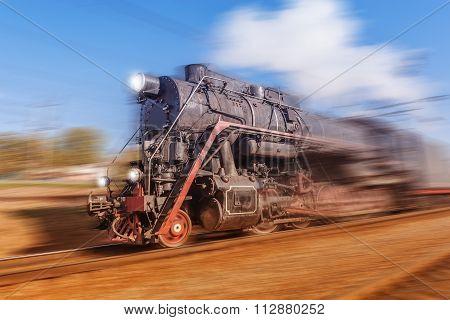 Old Retro Train.
