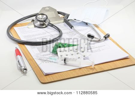 Medical Report Clipboard