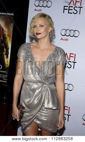 04/11/2009 - Hollywood - Charlize Theron at the AFI FEST 2009 Screening of