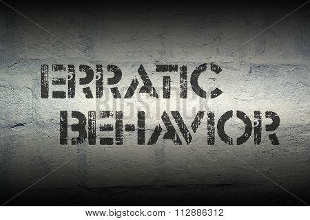 Erratic Behavior Gr