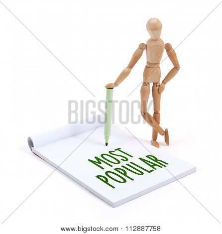 Wooden Mannequin Writing - Most Popular