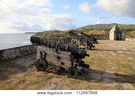 Fort Nuestra Senora de la Soledad in Guam Micronesia