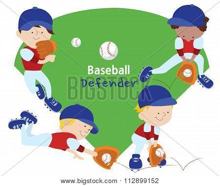 Baseball defender