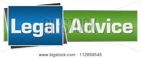 Legal Advice Blue Green Horizontal