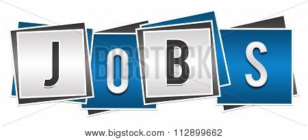 Jobs Blue Grey Blocks