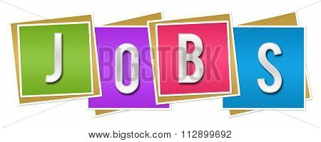 Jobs Colorful Blocks