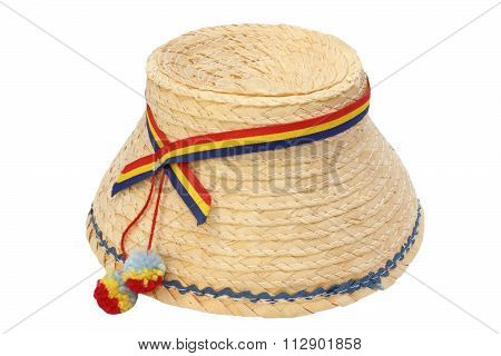 Romanian Traditional Isolated Hat