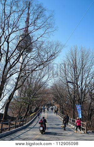 The Way To N Seoul Tower, South Korea