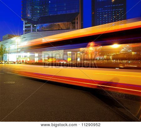 High-speed Vehicles On Urban Roads At Night