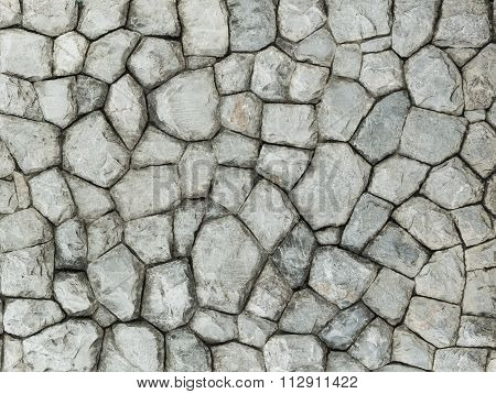 Granite Stone Wall Surface