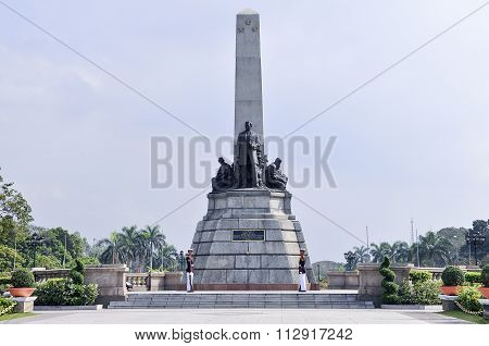 Rizal Park also known as Luneta National Park in Roxas Boulevard Manila.