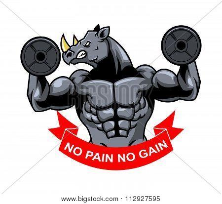Rhino Muscle Barbel