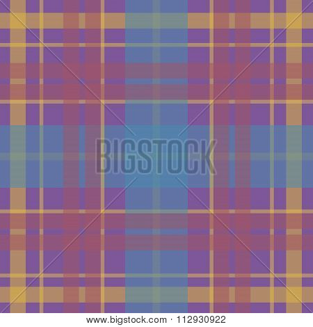 Vector seamless scottish tartan pattern in beige blue pink pale taupe. British or irish celtic desig