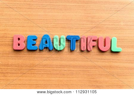 Beautiful Colorful Word