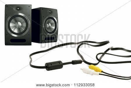 Music Speakers And Cables