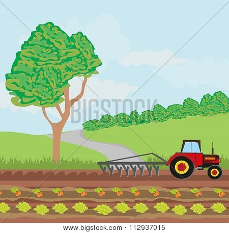 Tractors And Agricultural Affairs.