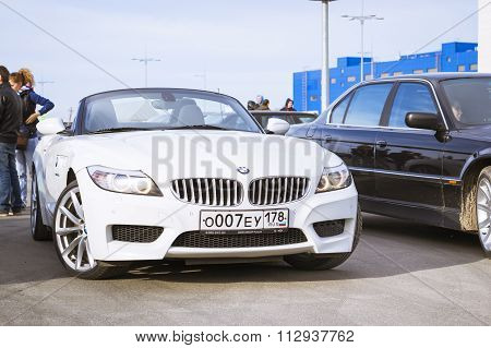 White Coupe Bmw-car Z4