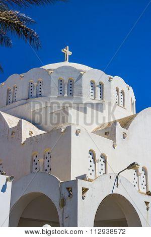 Orthodox Metropolitan Cathedral Santorini Greece