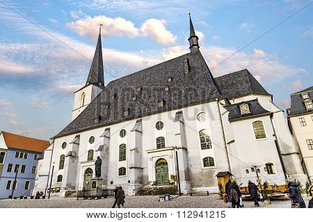 Church St. Peter And Paul. Weimar, Thuringia
