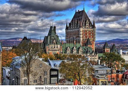 Old Quebec HDR