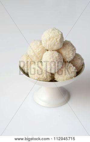 Coconut Snowball Truffles