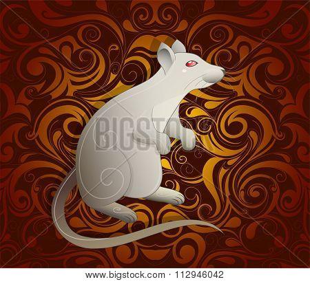 Rat as symbol for year 2020