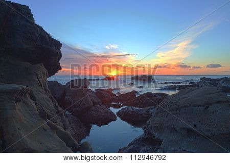 Sunset over Diver's Cove