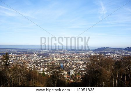 Bern Seen In The Distance