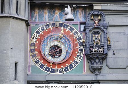 The Dial Of The Zytglogge's Astronomical Clock