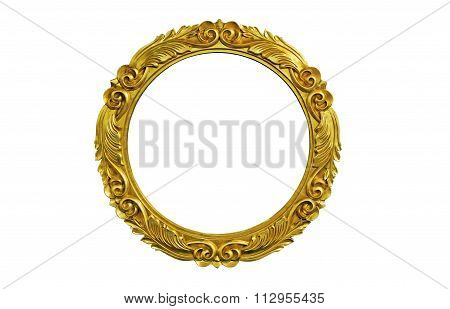 Oval Picture Frame
