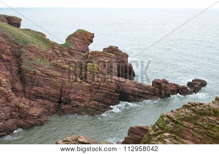 CLIFFS IN ARBROATH