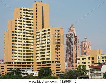 Dense Condominium In Bangkok