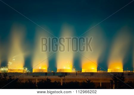 Cooling Tower Twilight