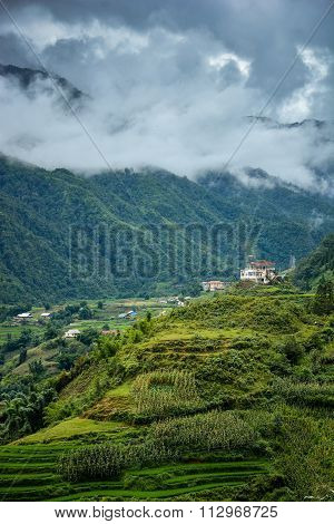 Beautiful Landscape Of Sapa Valley