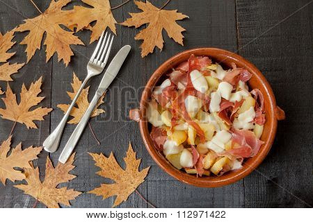 Hot Mediterranean meal