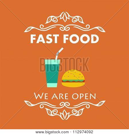 Vintage Fast Food Signage