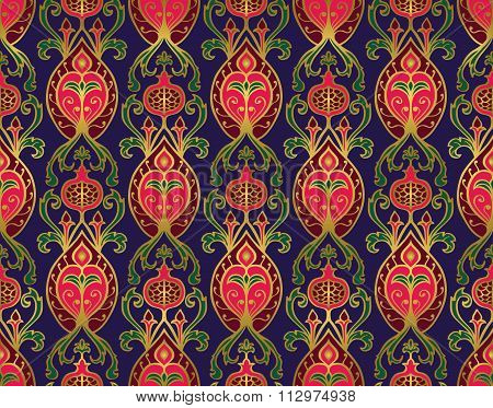 Pattern For Bedcover, Curtain, Tablecloth.