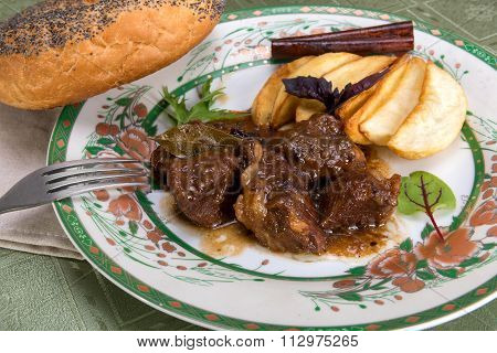 Esik Fleisch, Meat With Sour-sweet Sauce