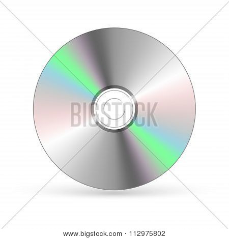 Cd / Dvd Isolated On White
