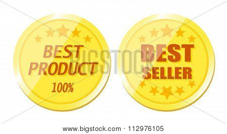 Gold Best Product and Best Seller Coin