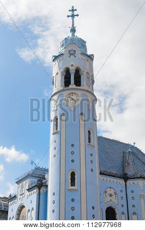 Blue Church Bratislava Slovakia