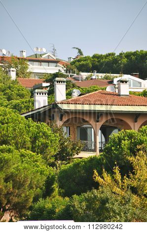 Modern villas
