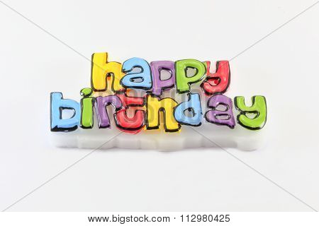 Happy Birth Day Embossed Greeting