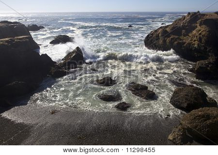 Point Lobos State Reserve beach